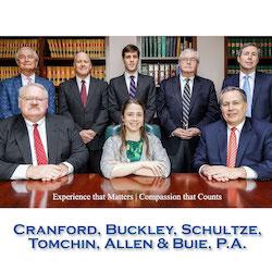 Cranford, Buckley, Schultze, Tomchin, Allen & Buie, P.A